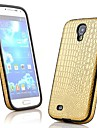 Crocodile Grain Leather PU PU Leather Case Full Body para Samsung Galaxy S4 i9500 (cores sortidas)