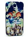 Voando Padrão Elephant Case Capa dura para Samsung Galaxy S4 Mini I9190