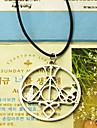 shixin® этнические (Весы) черный силикон ожерелье (золото, серебро) (1 шт)