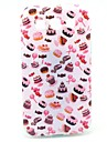 Candy and Cakes Pattern Soft Case for Samsung Galaxy Win I8552