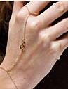 shixin® Европейский Лаки восемь 37см золотая цепь сплава женщин& ссылка браслет (золотой, серебряный) (1 шт)
