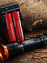 Светодиодные фонари / Ручные фонарики LED 5 Режим 1800 Люмен Фокусировка Cree XM-L T6 18650Походы/туризм/спелеология / Повседневное