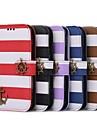 Пиратская двойной цвет Радуга кошелек чехол для Samsung S3 I9300