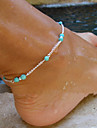 Anklet/Bracelet Alloy Unique Design Fashion Jewelry Silver Golden Women's Jewelry Party Daily Casual 1pc
