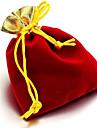 (Couleur aléatoire) de mousseline de soie d'or chaud Ouverture d'or Fil Sac à sac de poche de bijoux de sac Beam (1pc)