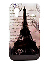 Famous Effiel Tower with Letters Pattern Hard Case for Samsung Galaxy Ace S5830