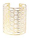 lureme®hollow из треугольной формы открытых браслет
