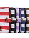 삼성 I9500 S4에 대한 해적 두 배 색깔 무지개 지갑 상자