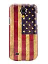 Ретро-модель США Национальный флаг Жесткий задняя обложка чехол для Samsung Galaxy S4 Mini I9190