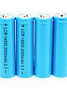 2000mAh 14500 батарей (4шт)