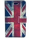 Rétro cuir UK Flag PU cas dur avec des fentes de cartes pour Samsung Galaxy tendance Duos S7562