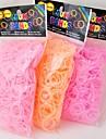 baoguang®600pcs цвета радуги ткацкий станок клубники моды ткацкий станок резинку (клип 1package S, разных цветов)