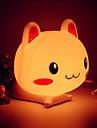 Светильник ночной светодиодный в виде головы кролика (цвета в ассортименте)