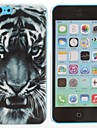 Tiger Pattern PC Hard Case for iPhone 5C