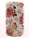 The Rose Pattern PC Hard Case for Samsung Galaxy S3 Mini I8190