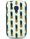 Pineapple Pattern Hard Plastic Cases for Galaxy Samsung S3 mini I8190