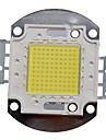 ZDM ™ DIY 100w 높은 전력 8000-9000lm 백색 조명 통합 LED 모듈 (32-35v)
