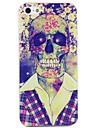 Corpo Skull in Camisa caso de impressão para iPhone 4/4S