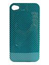 Etui Rigide à Pois pour iPhone 4/4S - Multicolore
