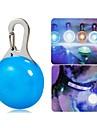 Chat / Chien Colliers / Lampe de Sécurité LED Etanche / Lampe LED Blanc / Bleu Plastique