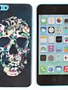 Cool Skulls Pattern PC Hard Case for iPhone 5C