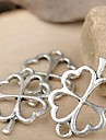 Eruner®24*17MM Alloy Four Leaf Clover Charms Pendants Jewelry DIY (10PCS)