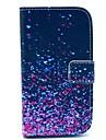 Para Samsung Galaxy Capinhas Carteira / Porta-Cartão / Com Suporte / Flip / Estampada Capinha Corpo Inteiro Capinha Cores GradienteCouro