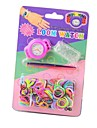 Children's Knitting Rubber Bands DIY Quartz Loom Watch Design Your Style Watch (Assorted Colors) Cool Watches Unique Watches