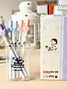 Счастливые Sweet Girl с черными чернилами гелевая ручка (случайный цвет)