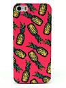 Hard Case beau modèle d'ananas pour iPhone 5/5S