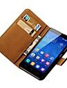 Capa de Couro Estilo Carteira de luxo para Huawei Honor 3C Telefone Covers com suporte e Cartas titulares