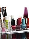 Organizador para Maquiagem Caixa de Cosméticos / Organizador para Maquiagem Plástico / Acrílico Cor Única 17x10x6.5 Transparentes