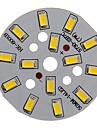 7W 600-650LM 5730SMD Интегрированный модуль теплый белый свет Светодиодные (21-24V)