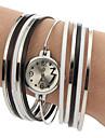 Women's Colorful Steel Band Quartz Bracelet Watch (Assorted Colors) Cool Watches Unique Watches Fashion Watch