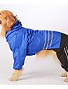 модный пальто дождя с брюки для собак (ассорти цветов, S-XXL)