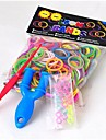 baoguang®300pcs цвета радуги ткацкий станок моды ткацкий станок резинкой (1шт рогатки и 12шт цвет крюк, разные цвета)