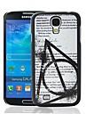 Волшебный школьный Цитата Pattern пластиковые жесткий защитный футляр для Samsung Galaxy S4 i9500