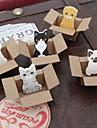 brinquedo animal desenho notas auto-adesivos pequenos (cor aleatória)