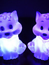 Cat Rotocast changeant de couleur Night Light