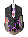 KN-330 Shift LED High Definition Optical Wired Gaming Mouse(800/1200/1600/2400DPI)