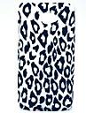 Leopard padrão rígido de volta caso capa para o HTC Desire 601