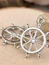 eruner®27 * encantos 23 milímetros liga âncora pingentes jóias diy (5pcs)