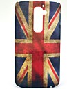 Etui rigide Rétro Motif drapeau britannique pour LG G2/D802
