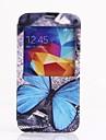 Синий бабочка шаблон Полный Дело Корпус для Samsung S5 I9600
