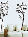 etiqueta de la pared patrón de bambú pintura en tinta (1pcs)