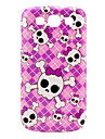 Pink Girl Череп Обложка Pattern чехол для Galaxy 3 I9300