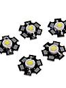 zdm ™ 1s haute puissance couleur blanc froid conduit module avec pcb d'aluminium (3.0-3.4v, 5pcs)
