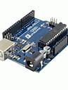 1шт (для Arduino) UNO R3 Совет по развитию новейших 2012 новая версия и USB-кабель (50 см)