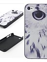 Eagle Eye Pattern Hard Plastic Back Case for iPhone 4/4S