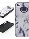 План Eagle Eye жесткого пластика задняя чехол для iPhone 4/4S
